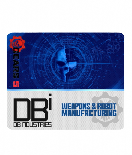 DB Industries Gears of War 5 Design Mousemat PC Laptop Computer Mouse Pad
